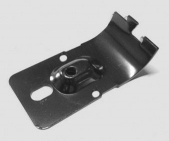 Flat Clamp Hinge A Black Drilled for Pneumatic Cylinder