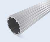 4 Meter 28mm Round Slide Aluminum Pipe