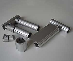 Introducing aluminum pipe and joint