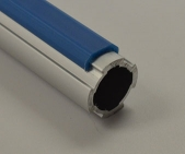 Single Rail Aluminum Guard Blue *Non-stock