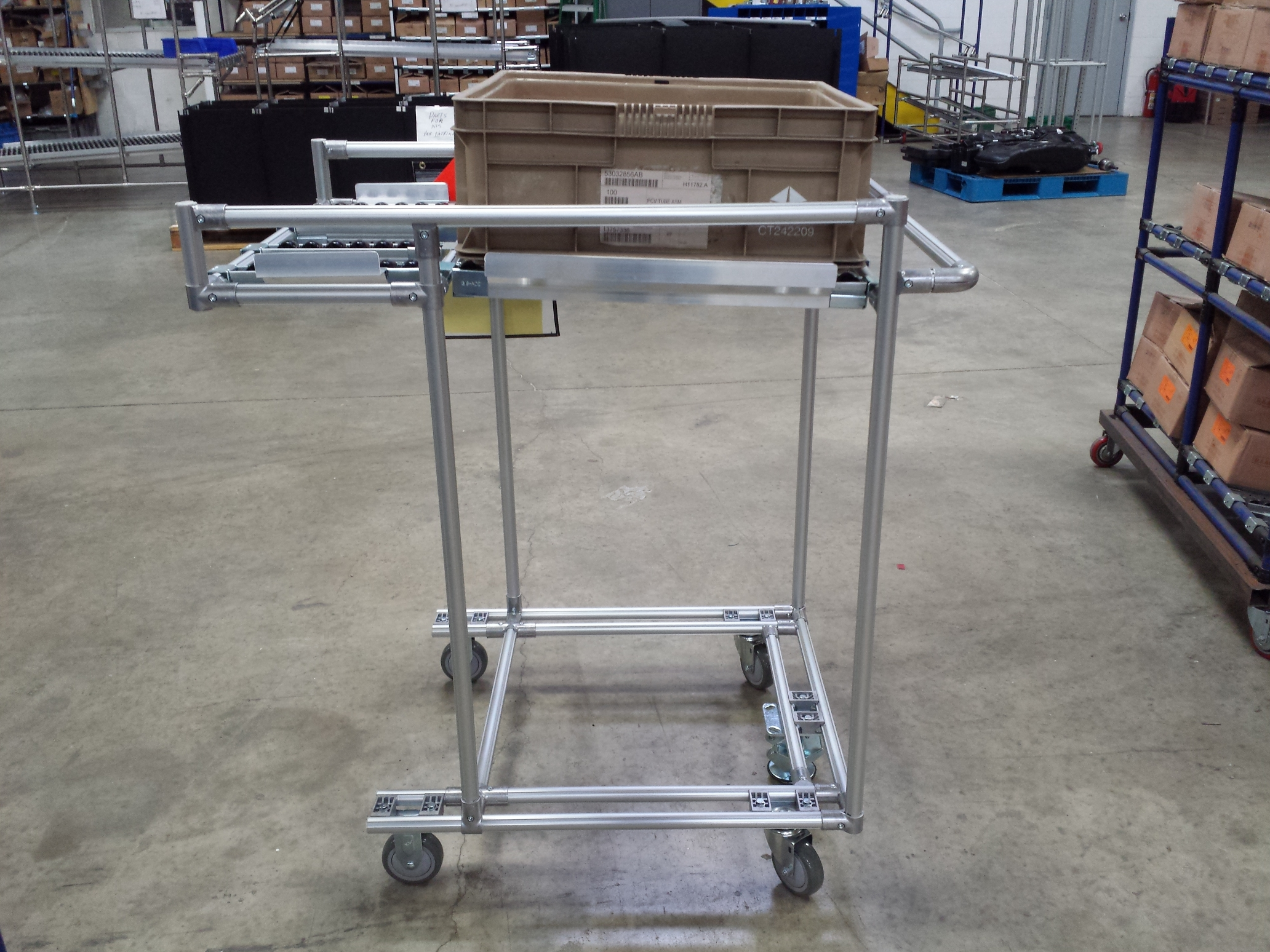 Aluminum Push Cart