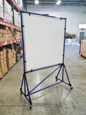 4' x 4' Double Sided Magnetic Dry Erase Board