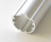 4 Meter 43mm Ergonomic Aluminum Pipe
