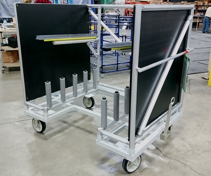 Brush Dunnage Cart 2