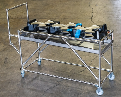 Drip Pan Cart with Dunnage 3