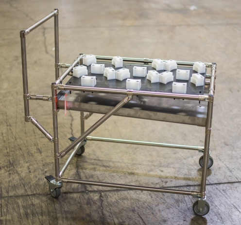 Drip Pan Cart with Dunnage 4