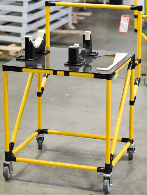 Cart with Automotive Dunnage