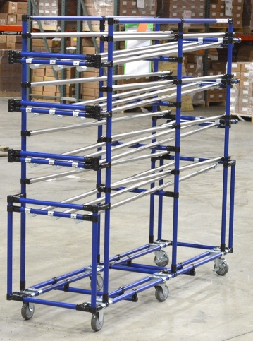 Slide Pipe Flow Rack
