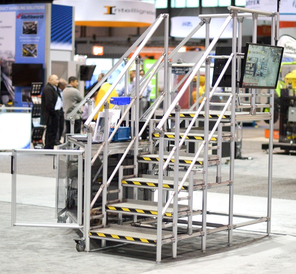 ProMat 2017 Stairs