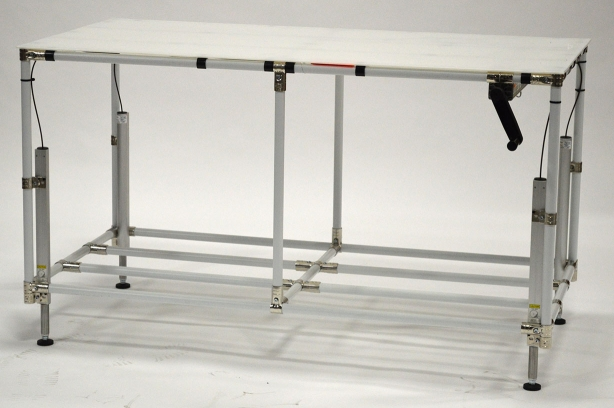 Height-Adjustable Table