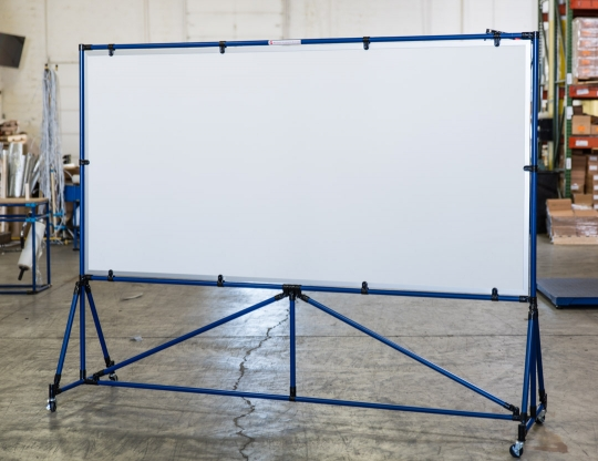 4' x 8' Single Sided Magnetic Dry Erase Board
