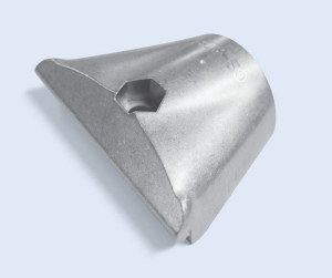 Heavy Duty Single Tee Aluminum Outer 43mm