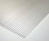 6mm 4'x8' Corrugated Sheet Clear *Non-stock