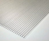 6mm 4'x8' Corrugated Sheet Frosted