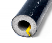 6' Protective Foam Pipe Insulation Coated Fire Retardant