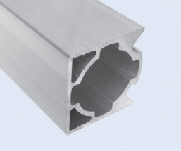4 Meter 28mm 3-Sided Square Aluminum Pipe