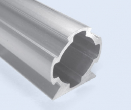 4 Meter 28mm 1-Sided Square Aluminum Pipe