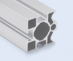 4 Meter 40mm 3-Sided T-Slot Square Aluminum Pipe