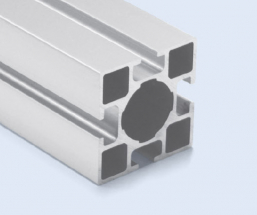 4 Meter 40mm 4-Sided T-Slot Square Aluminum Pipe