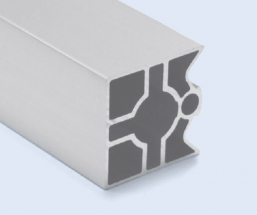 4 Meter 45mm 3-Sided Square Aluminum Pipe