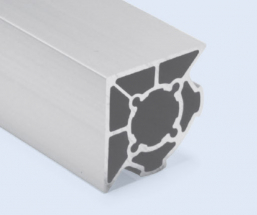 4 Meter 45mm 2-Sided 90 Degree Square Aluminum Pipe