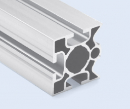 4 Meter 45mm 3-Sided T-Slot Square Aluminum Pipe