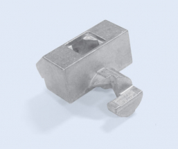 Single Tee Aluminum Square 45mm