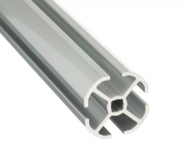 4 Meter 28mm Panel Frame Guide Aluminum Pipe